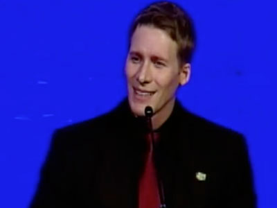 WATCH: Dustin Lance Black Helps Raise $300K for Marriage Equality