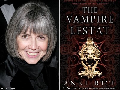 Anne Rice Teases Facebook Fans on Lestat Return