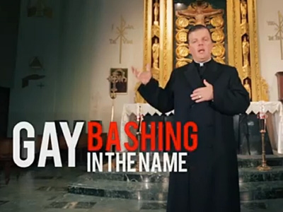 WATCH: Catholic Priest Raps for 'Ex-Gay' Myth