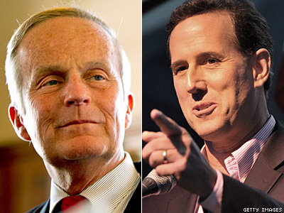 Santorum, Perry Endorse Missouri Senate Candidate Todd Akin