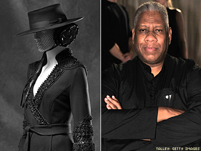 André Leon Talley Shows Off His 'Little Black Dress'