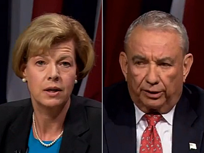 WATCH: Tammy Baldwin vs. Tommy Thompson on Marriage Equality