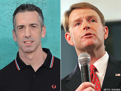 WATCH: Dan Savage Says Tony Perkins 'Sits on a Pile of Dead Gay Kids'