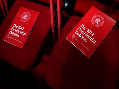 WATCH LIVE: The First 2012 Presidential Debate