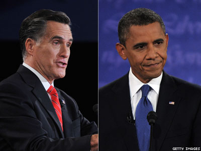 No Gay in This Debate as Romney Attacks Obama