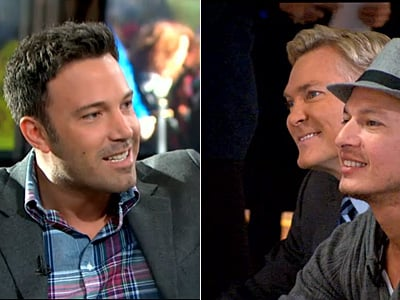 Ben Affleck Congratulates Sam Champion on Engagement Announcement