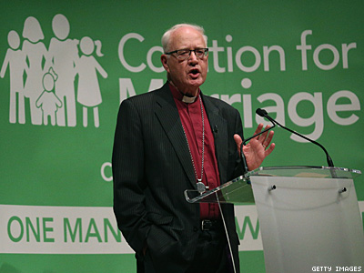Former Top U.K. Clergyman: Marriage Equality Supporters Behaving Like Nazis