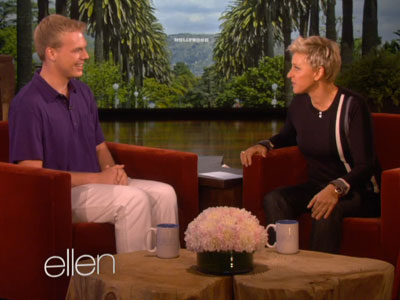 WATCH: Ellen Gives Shunned Gay Boy Scout a Big Scholarship