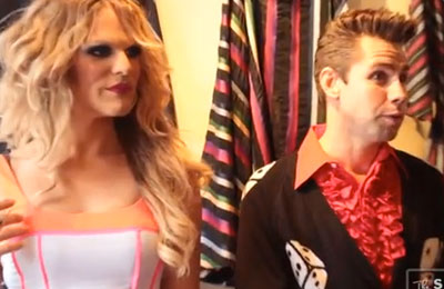 WATCH: RuPaul's Willam Belli on Transfashionable Drag Makeover