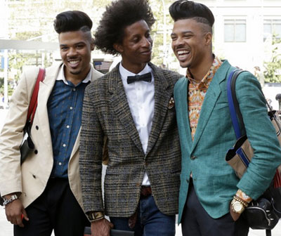 The (Gay?) Men of Fashion Week