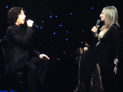 WATCH: Streisand and Son Jason Gould in Concert