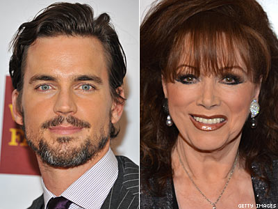 WATCH: Jackie Collins Says Matt Bomer Lost Superman Role Because He's Gay