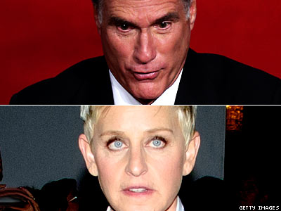 As A Gay Woman, Ellen DeGeneres Is 'Scared' of Mitt Romney