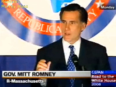 WATCH: Romney Says Gay Families Are Not Right