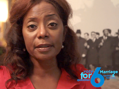 MLK Goddaughter Donzaleigh Abernathy Pleads for Marriage Equality