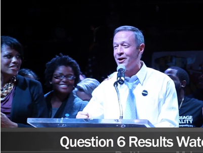 WATCH: Maryland Gov. O'Malley Celebrates Marriage Win
