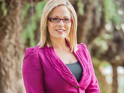 Kyrsten Sinema Becomes Nation's First Openly Bi Congresswoman