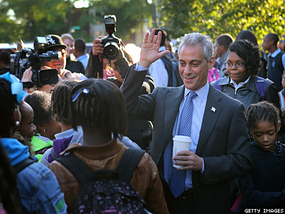 Chicago Mayor Rahm Emanuel Makes Push for Marriage Equality