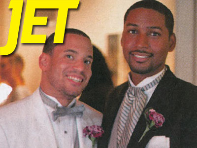 Jet Magazine Features First Male Couple in Weddings Section