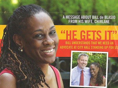 Lesbian Past of Candidate's Wife Rocks NYC Mayoral Race