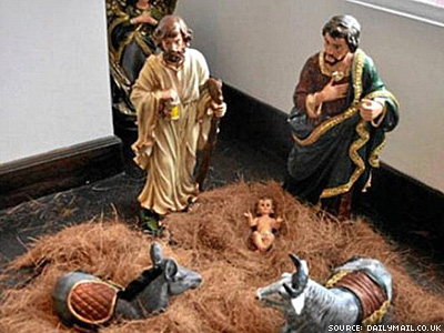 Nativity Scene With Two Josephs Enrages Conservative Colombians