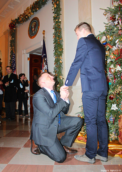 The White House Gets A Same-Sex Marriage Proposal