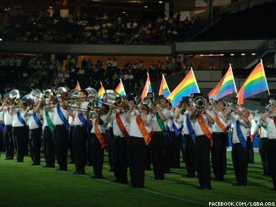 LGBT Marching Band Returns to Obama's Inaugural Parade