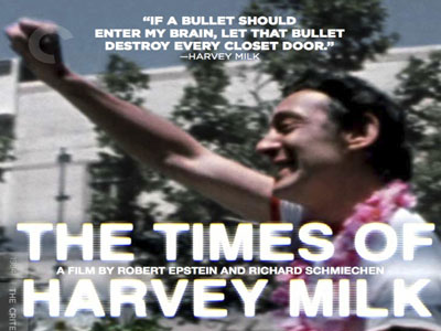 Harvey Milk Doc Named to National Film Registry