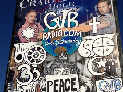 Gay Radio Hosts Turn Possible Hate Crime Into Art