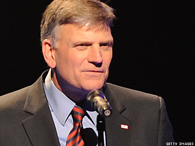 Gays Sending Us Off Moral Cliff, Says Franklin Graham