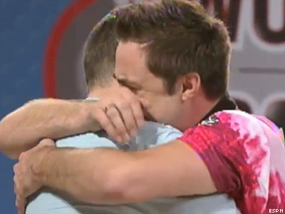 ESPN Shows Gay Champion Bowler Kiss Husband