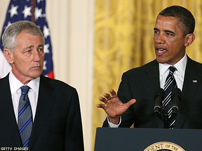 White House Comes to Hagel's Defense After Gay GOP Group Blasts Him