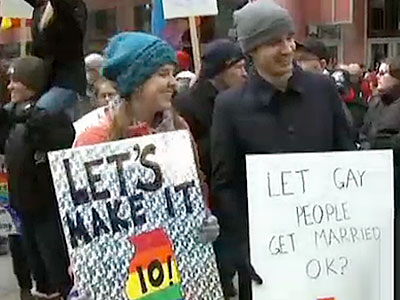 Marriage Equality Advocates Rally in Illinois, Look to Next Legislative Session