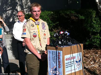 Gay Teen Allowed to Submit Eagle Scout Application