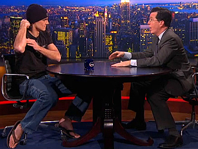 WATCH: Chris Kluwe Takes His 'Lustful Monster' to Colbert
