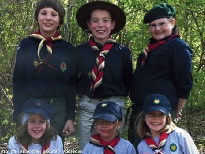New Scout Troop Welcomes Gays and Girls