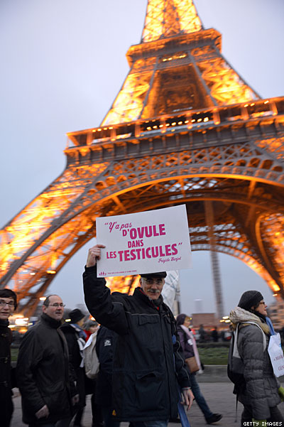 Thousands Protest Against Marriage Equality in France