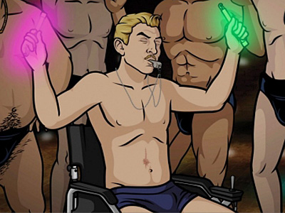 Spy-on-Spy Action: Gay Life on Archer