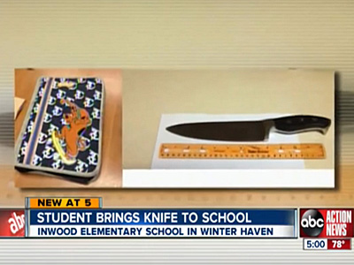 Fifth-Grader Brings Butcher Knife to School After Reported Antigay Bullying