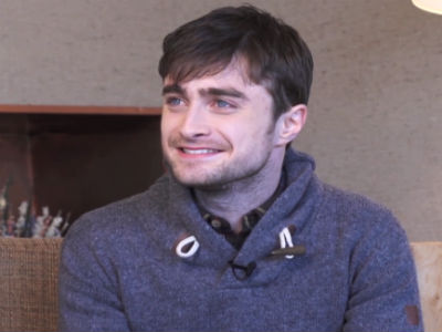 WATCH: Daniel Radcliffe: Gay Sex Scenes Not 'Shocking'