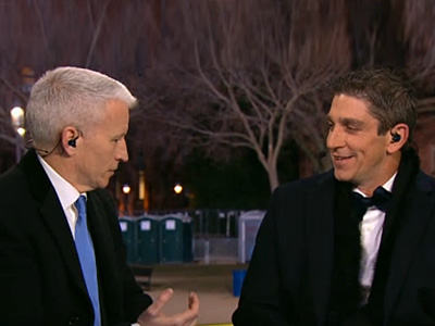 Inaugural Poet Talks to Anderson Cooper