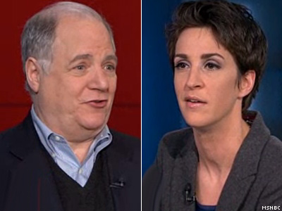 WATCH: Rachel Maddow, Frank Rich Think Obama's Inaugural 'Shouted At Supreme Court'
