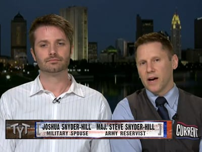 Soldier Who Was Booed During GOP Debate Calls for Marriage Equality in Military