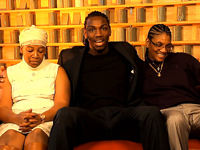 WATCH: NBA Star Kenneth Faried Comes Out for Equality and His Two Moms