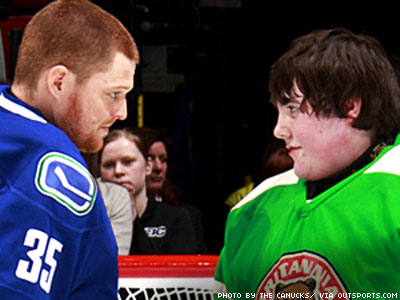 Vancouver Canucks Welcome Trans Goalie Onto Ice for His Sweet 16