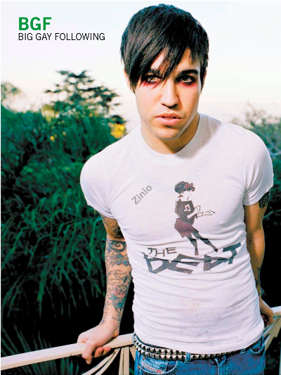 Big Gay Following: Pete Wentz