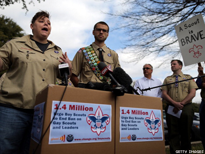 1.4 Million Signatures Delivered to Boy Scouts