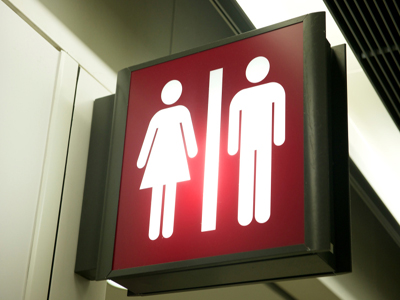 Op-ed: 'It's The Women's Room!' and Other Bathroom Complications