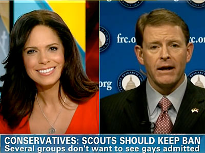 WATCH: Tony Perkins Lies to Soledad O'Brien in Row Over Boy Scouts Gay Ban
