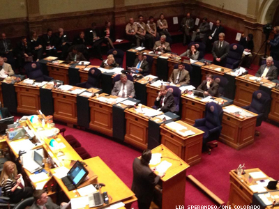 Colorado Civil Unions Pass First Senate Vote